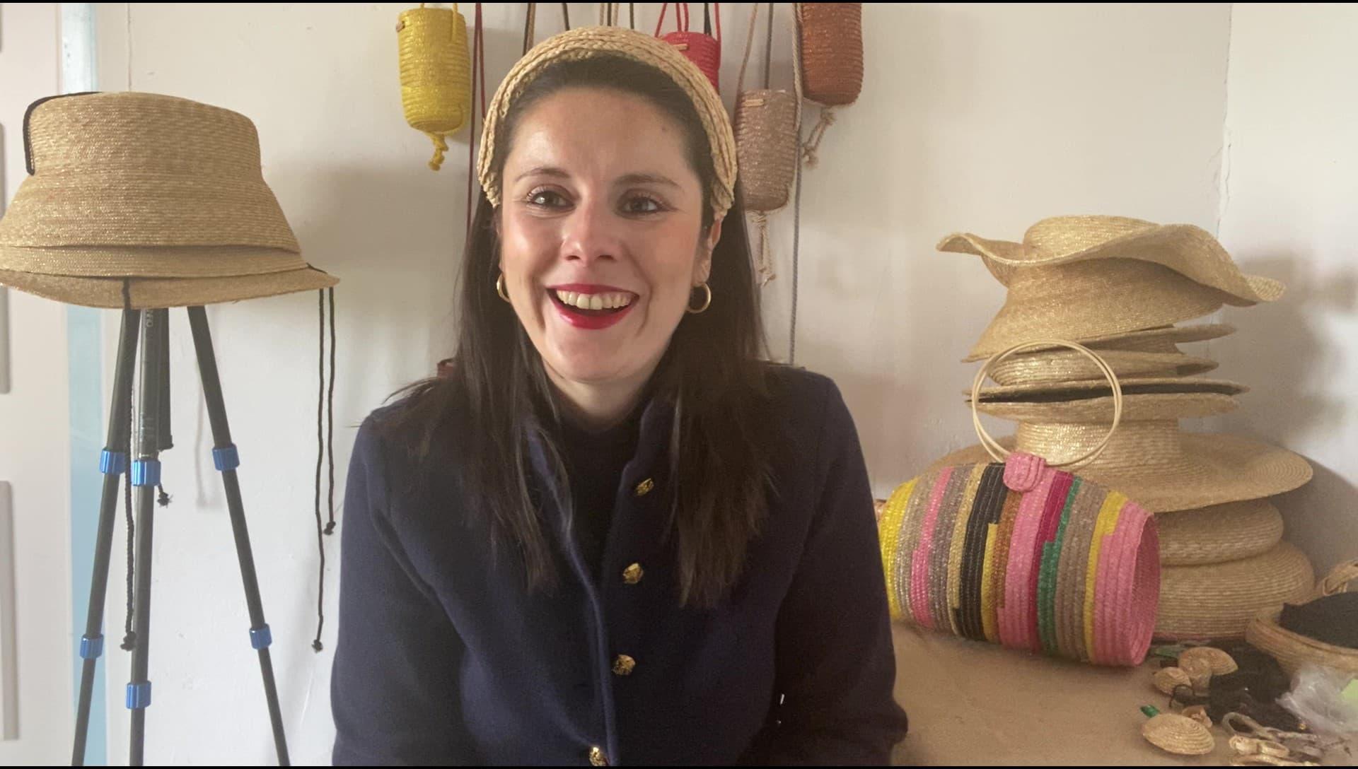 Sandra, arquitecto fundador de la marca sostenible Zahati