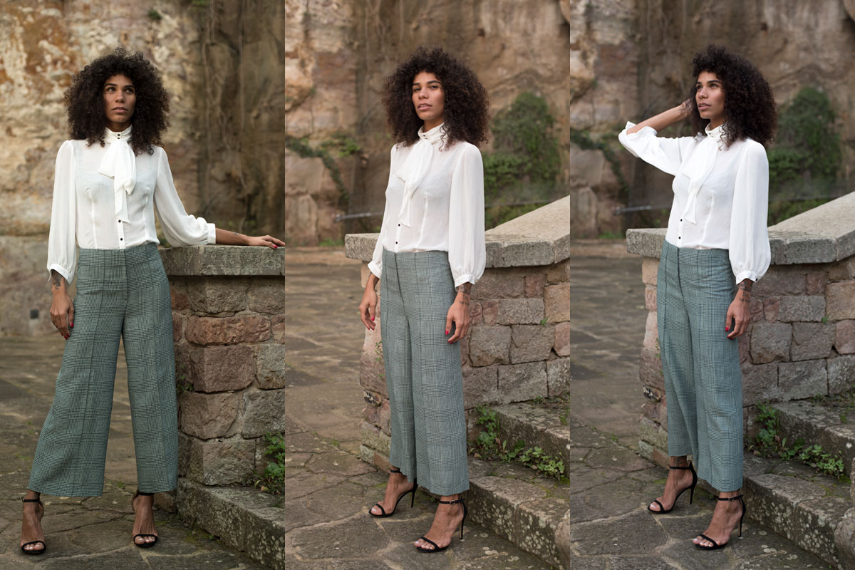 Pantalón culotte de IO DREAMS moda sostenible