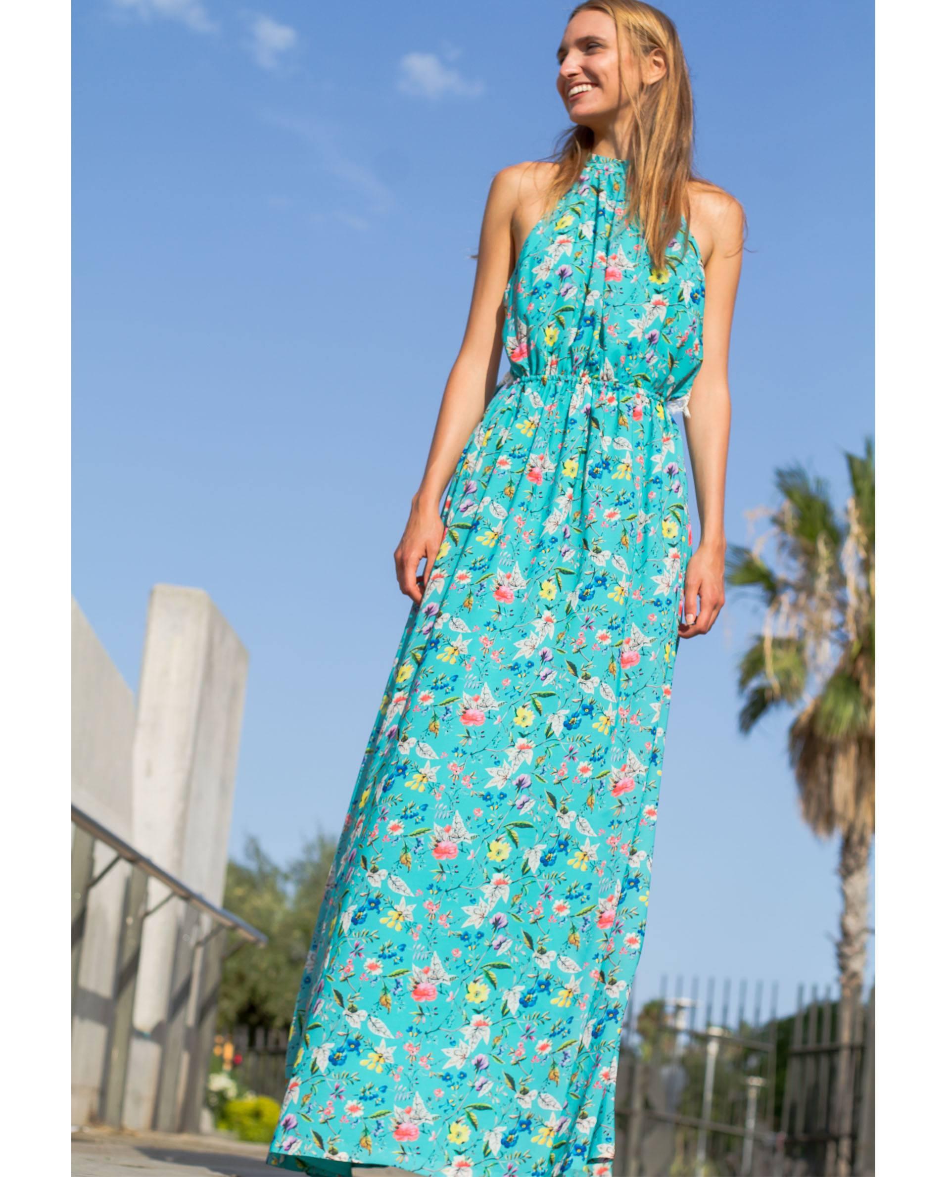 PRÊT À PORTER-SPRING/SUMMER 2018 - VESTIDOS - Maxi vestido Petra de georgette con estampado floral