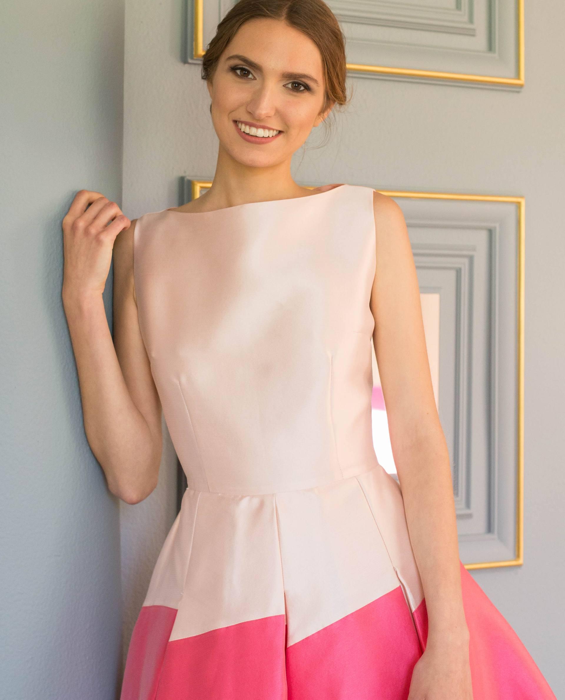 Detalle vestido ANNIE rosa