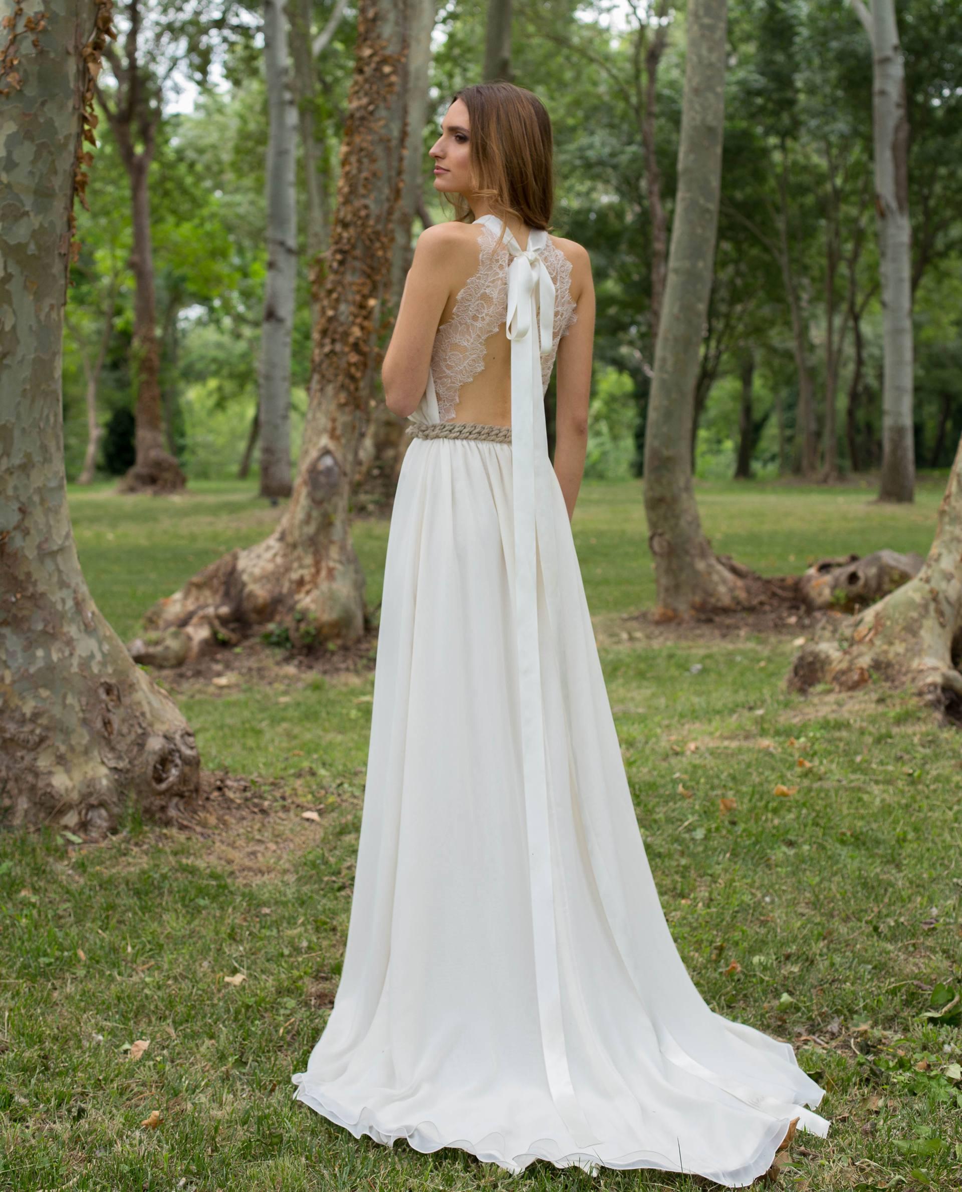 BRIDAL-NATURE 2017/18 - VESTIDOS - vestido novia Ángela