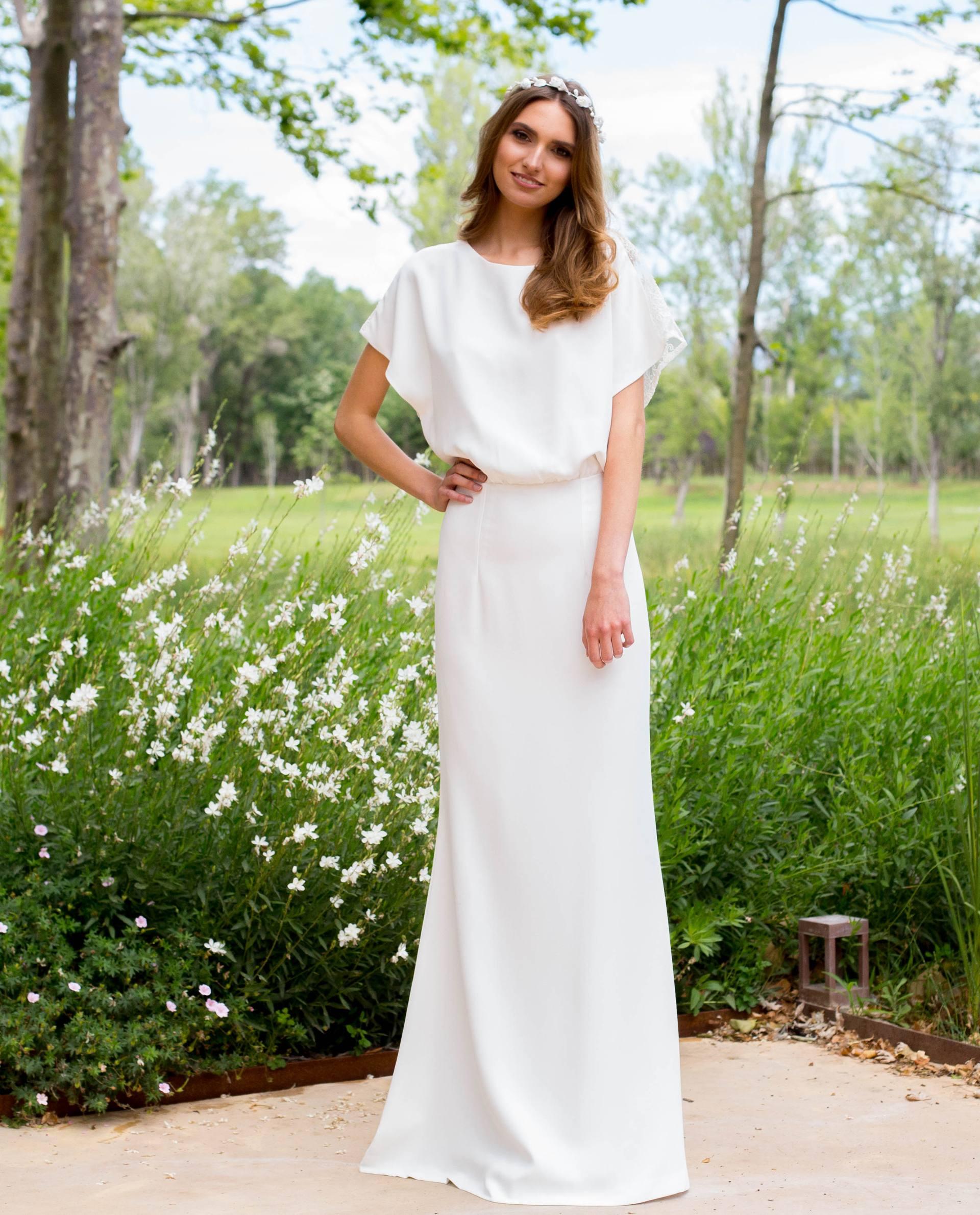 BRIDAL-NATURE 2018/19 - VESTIDOS - vestido novia Verónica