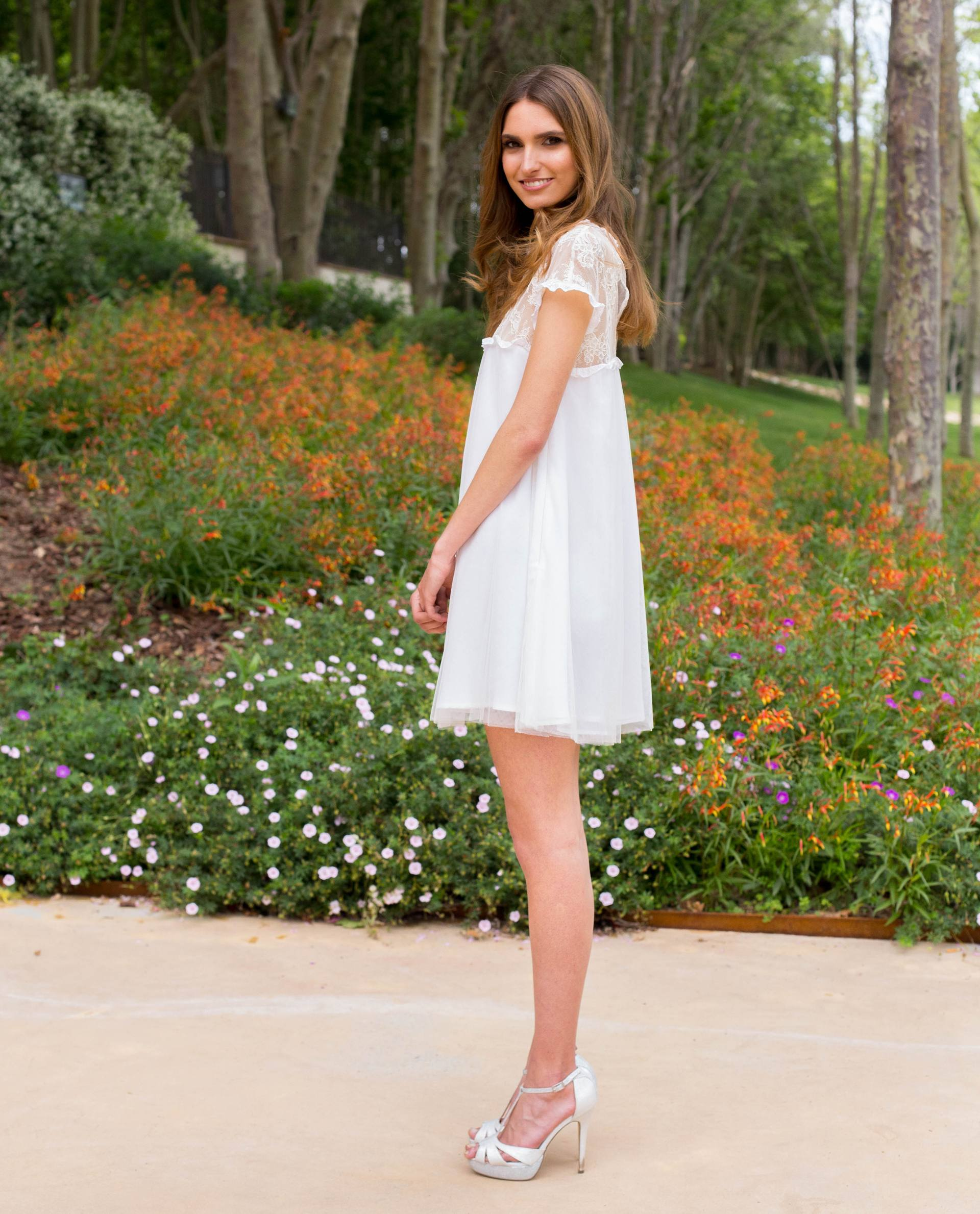 BRIDAL-NATURE 2018/19 - VESTIDOS - vestido novia Charlotte