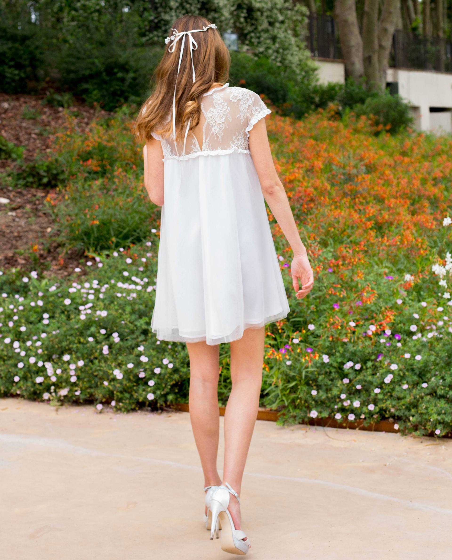 Detalle vestido novia Charlotte