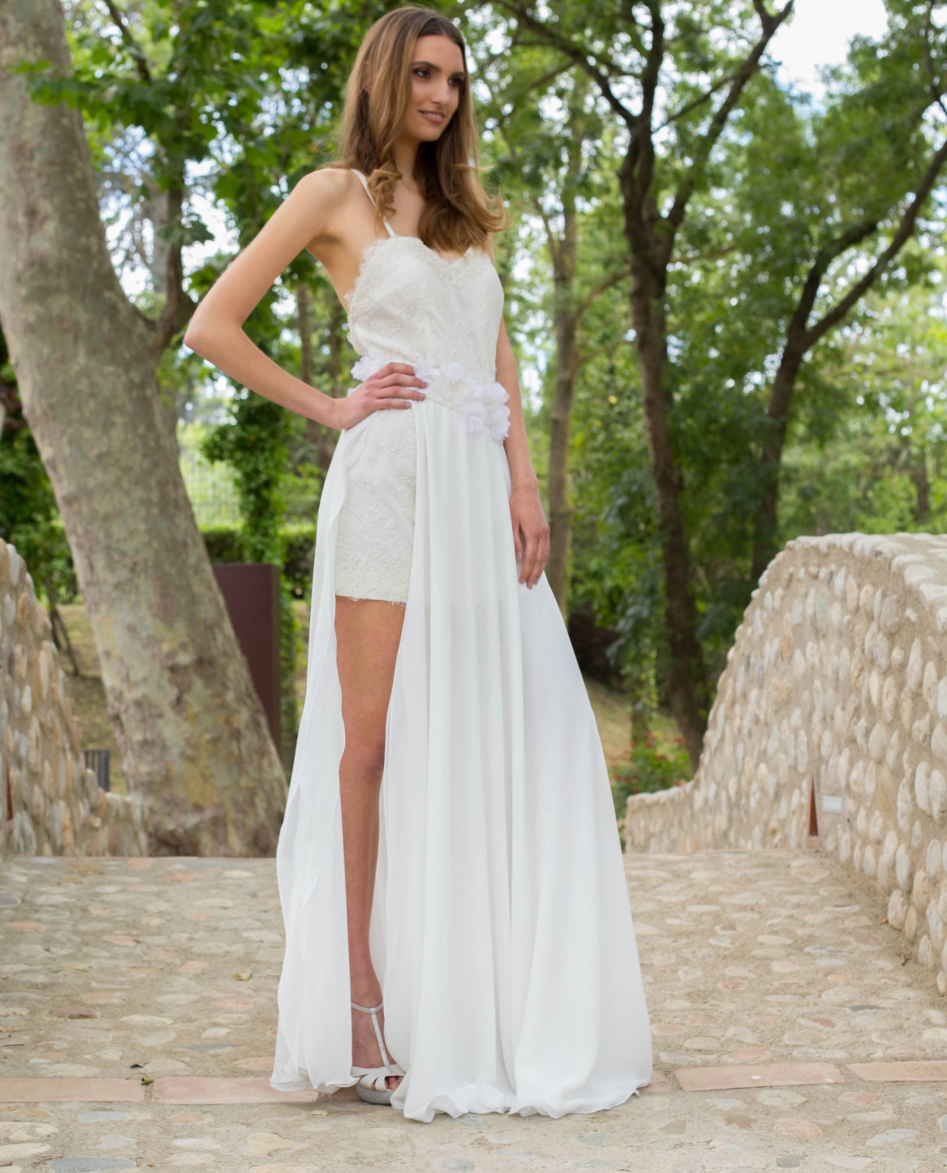 Falda novia Auril