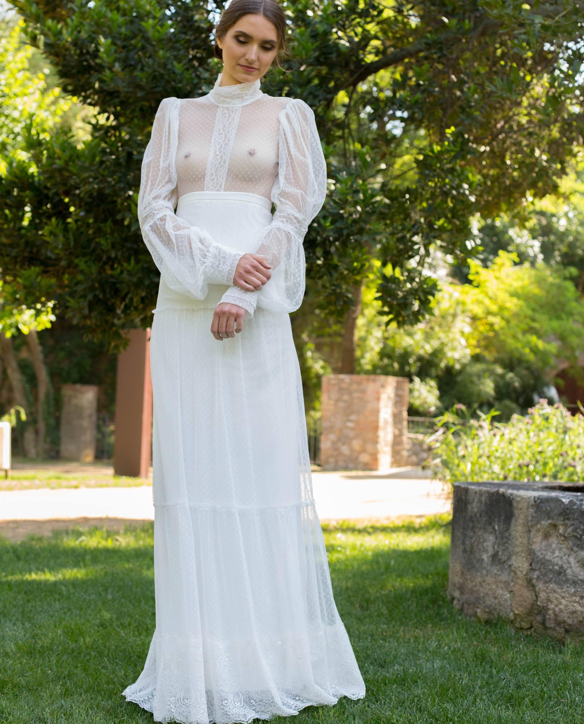 blusa novia  Victoria