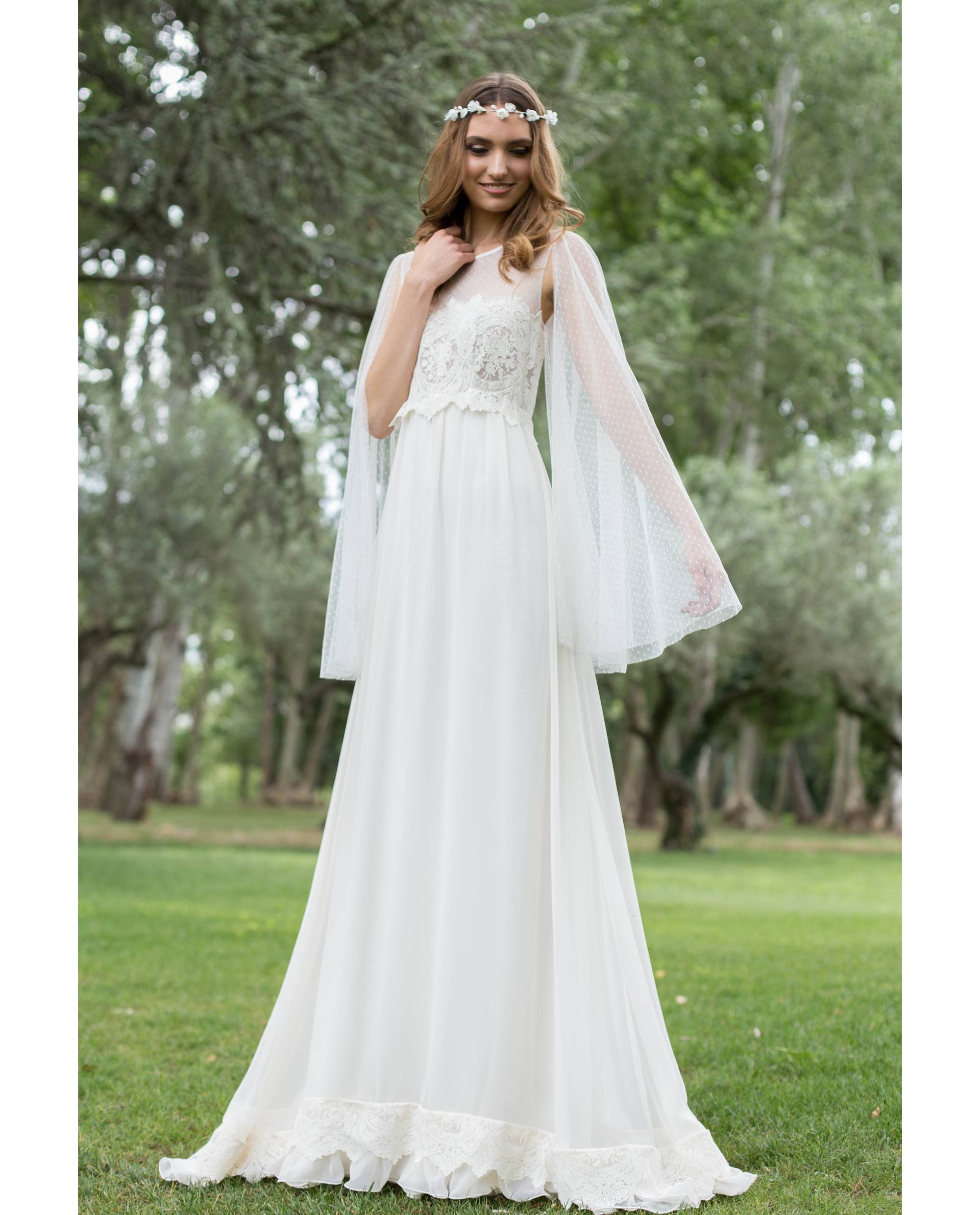 BRIDAL-NATURE 2018/19 - VESTIDOS - vestido novia Eril