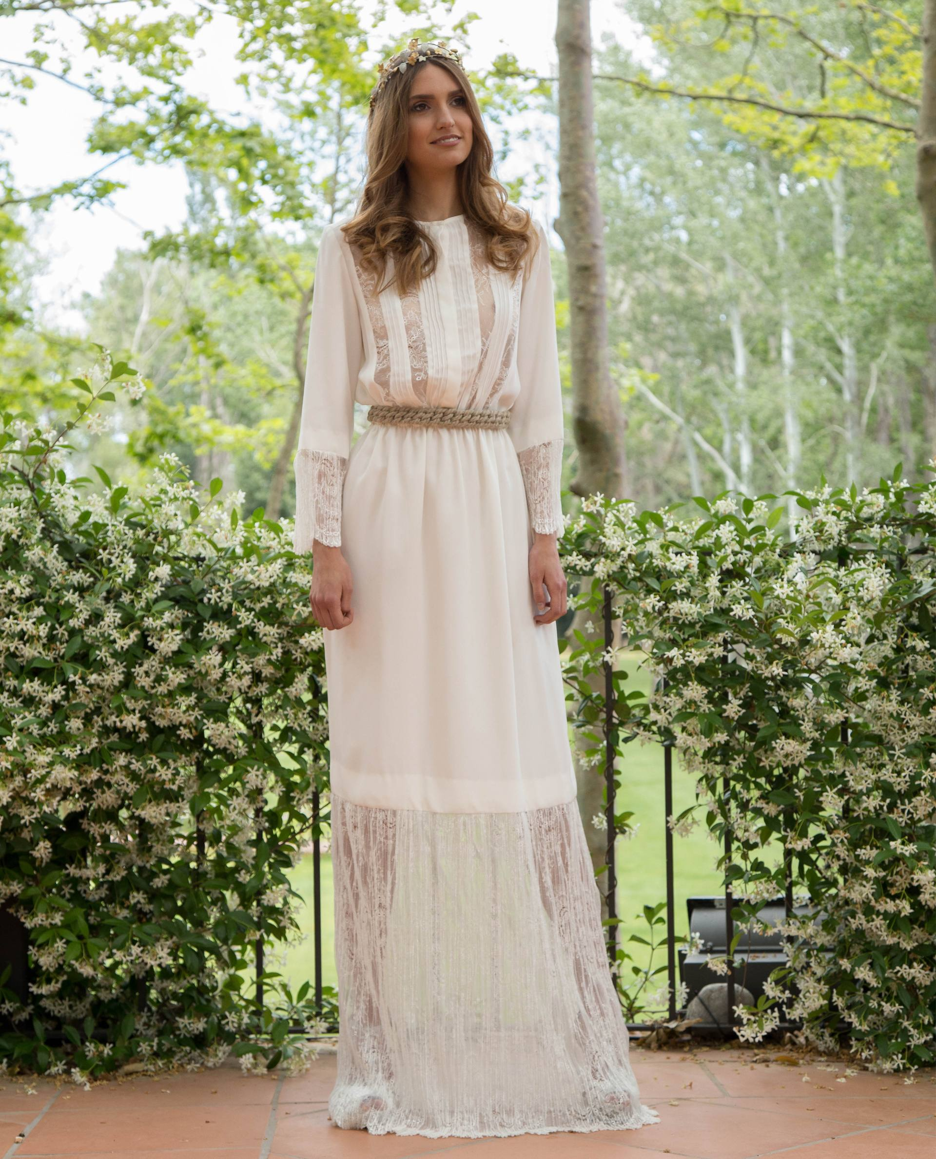 BRIDAL-NATURE 2017/18 - VESTIDOS - vestido novia Andrea