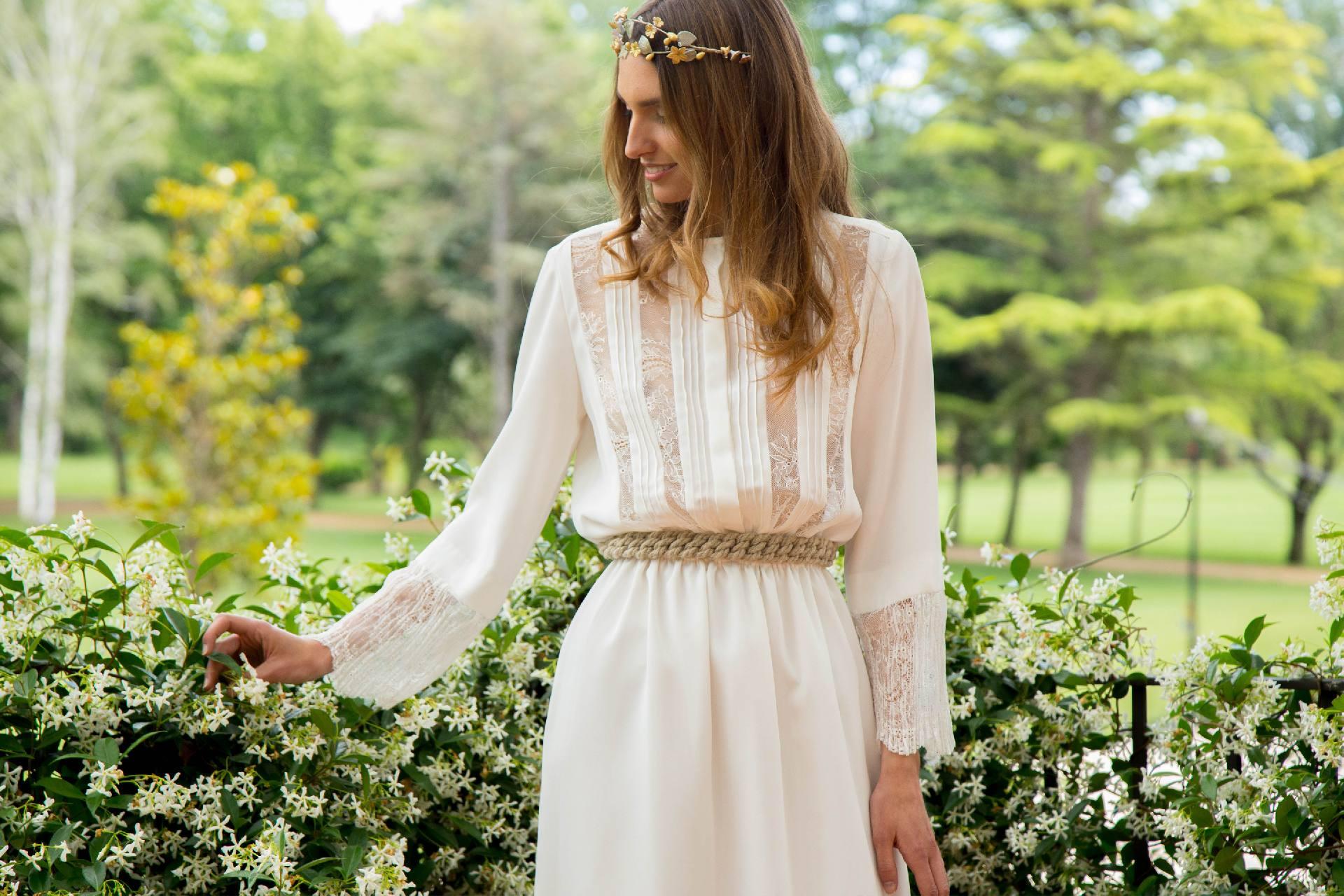 Vestido de novia de manga larga Andrea