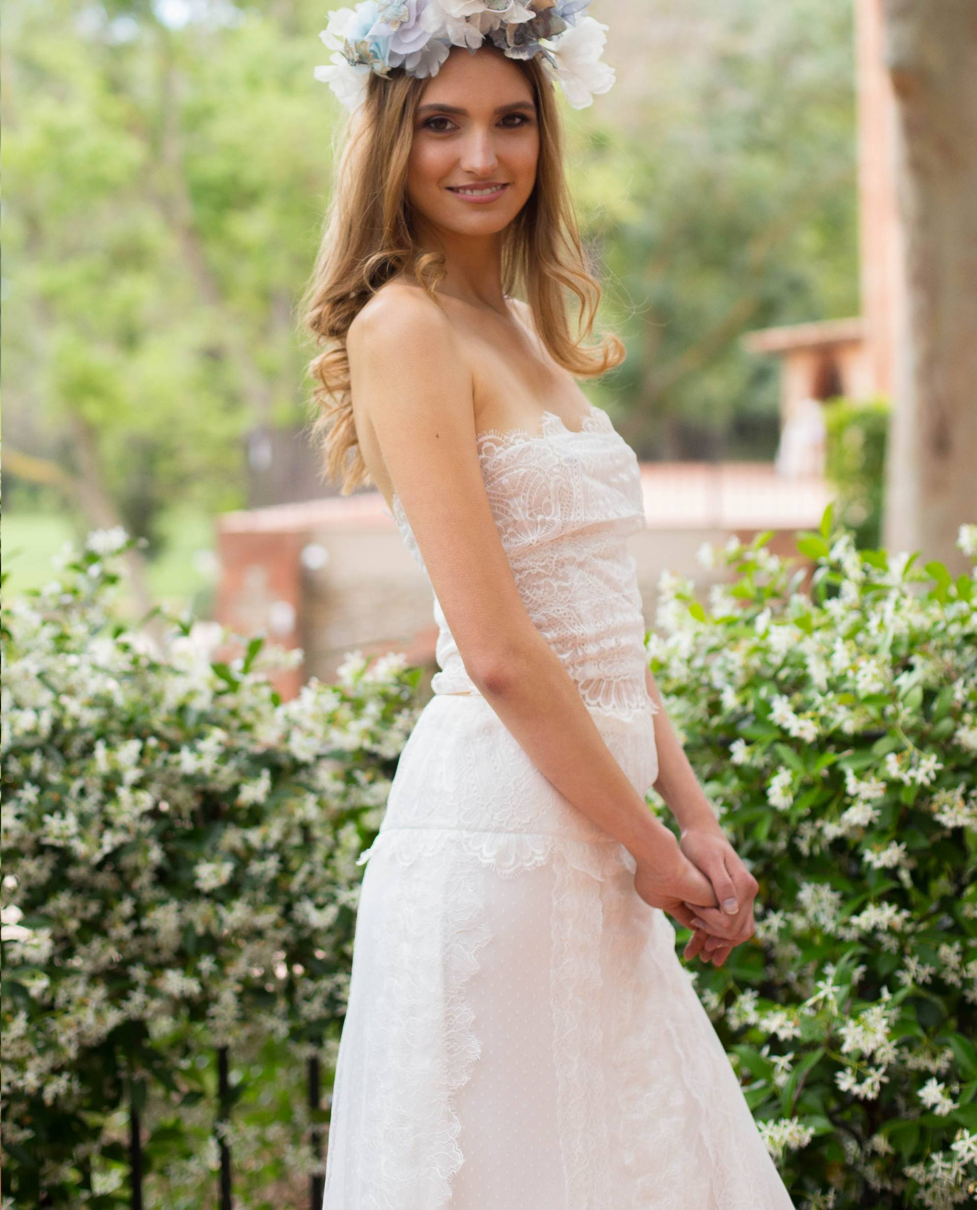 BRIDAL-NATURE 2018/19 - BLUSAS - top novia IO
