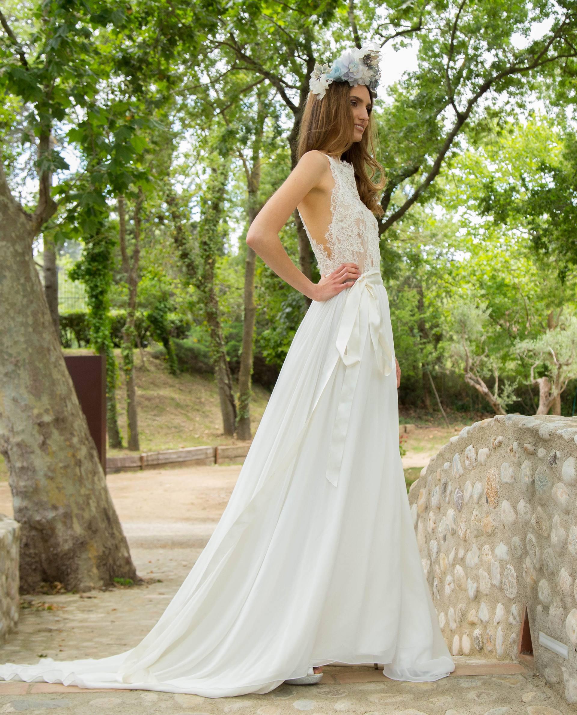 BRIDAL-NATURE 2017/18 - VESTIDOS - vestido novia Elda