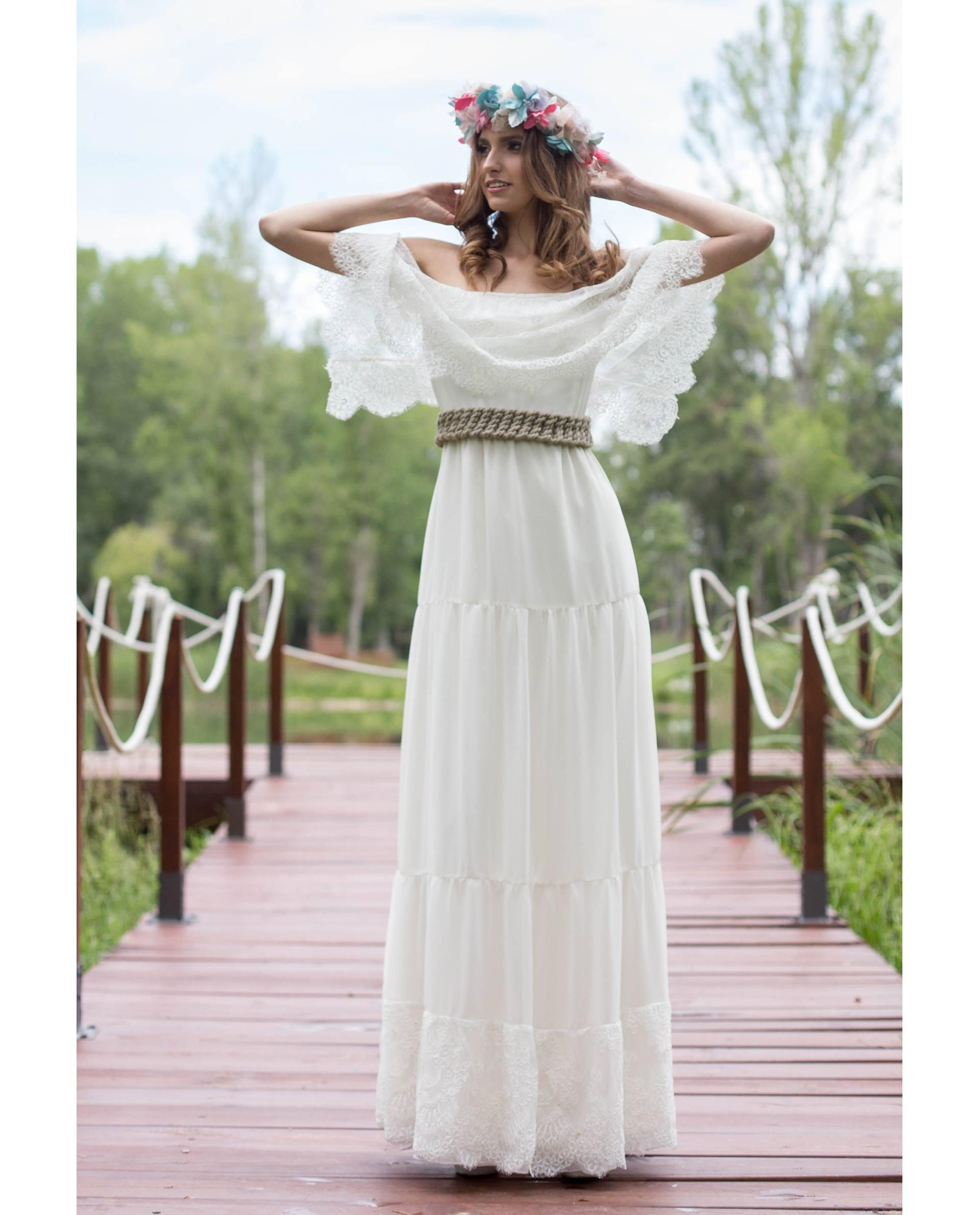 BRIDAL-NATURE 2019 - VESTIDOS - vestido novia Frida