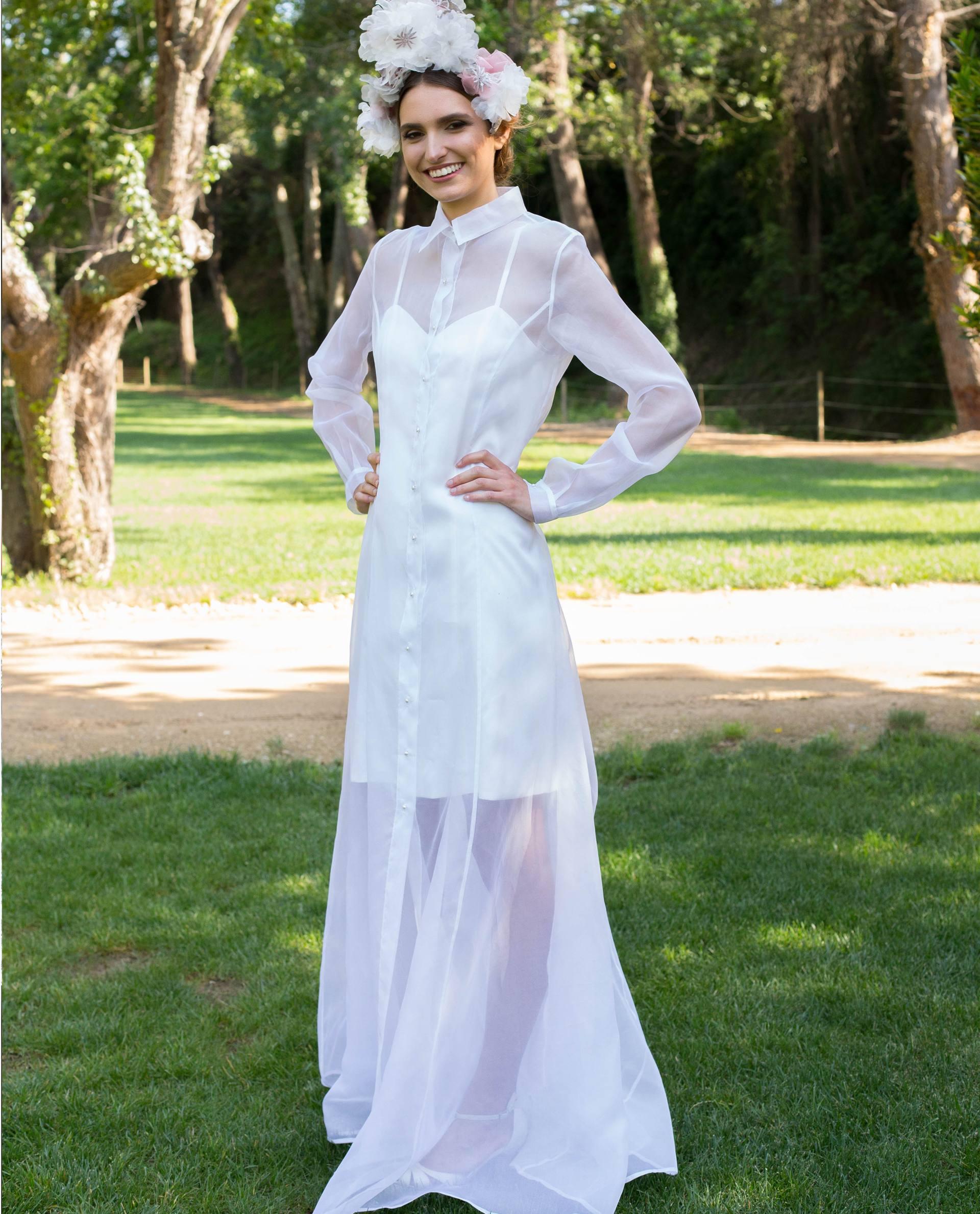 BRIDAL-NATURE 2017/18 - VESTIDOS - vestido novia Catherine