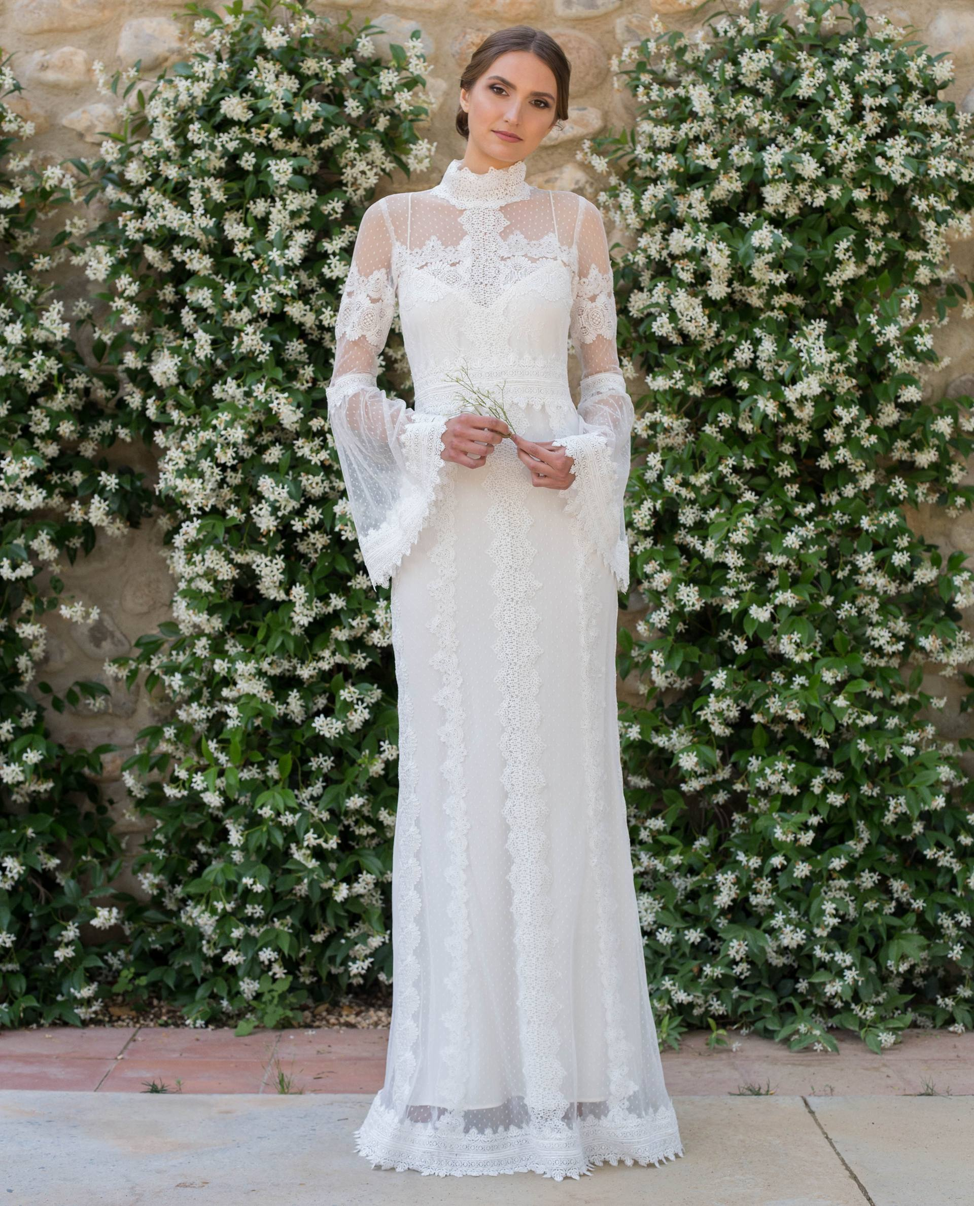 BRIDAL-NATURE 2018/19 - VESTIDOS - vestido novia Julia